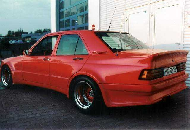 Mercedes 190e wide body 1 1