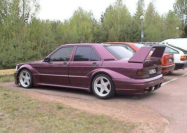 Mercedes 190e wide body 2