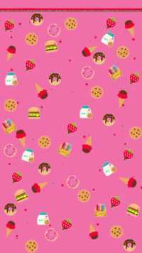 cute pink wallpaper 26 45