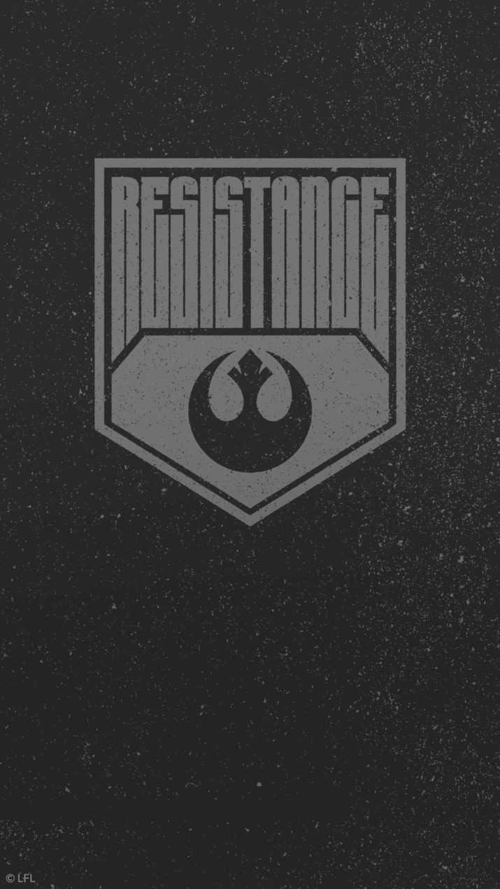 Minimalist star wars wallpaper