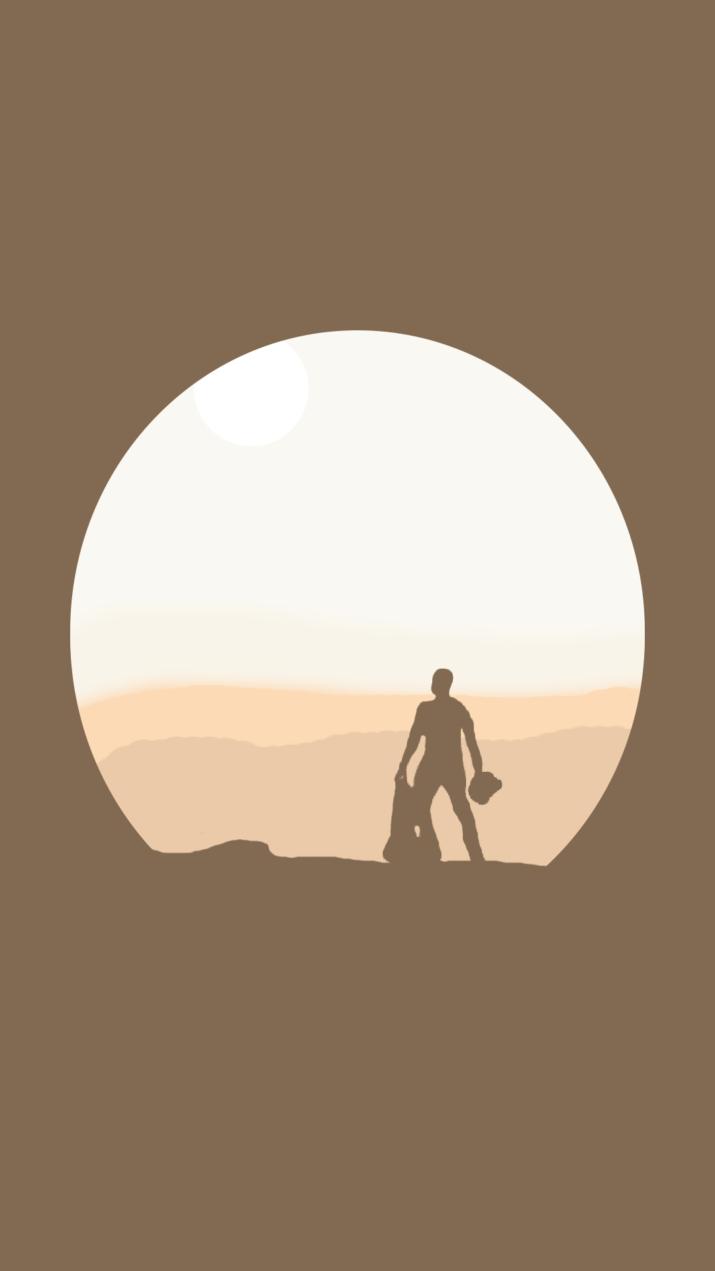 Minimalist Star Wars Wallpaper Wallpaper Sun