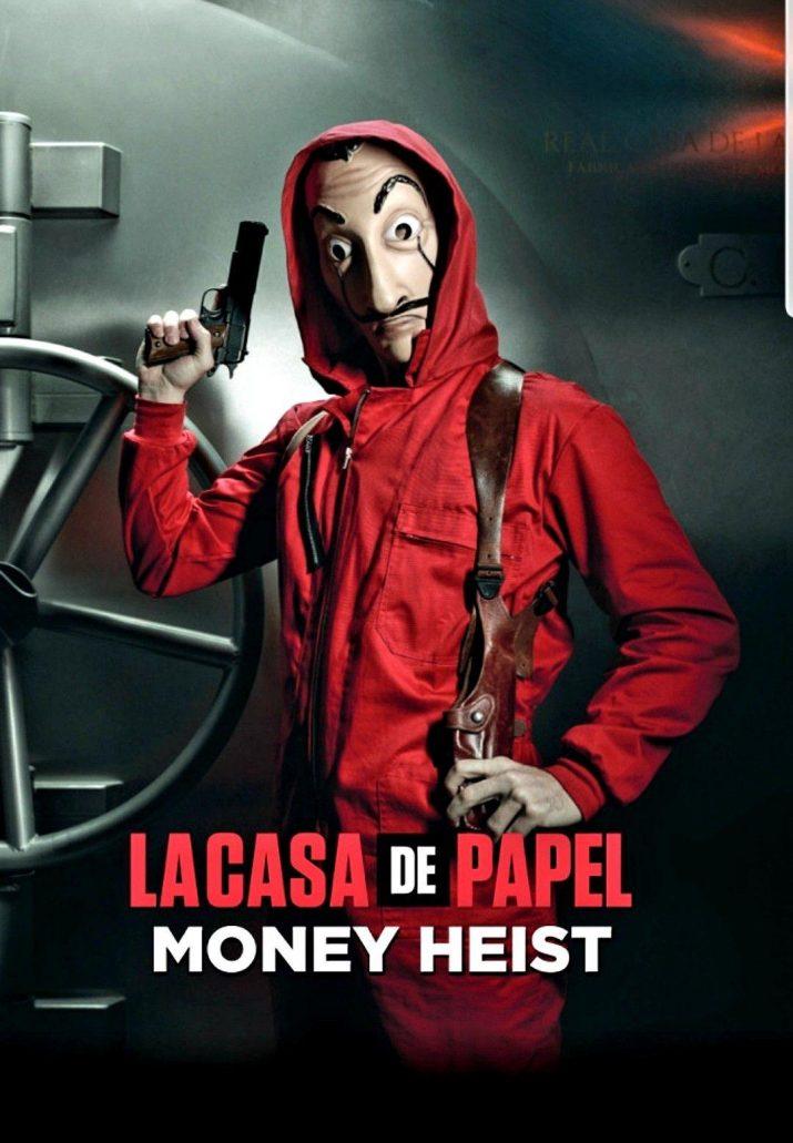 MONEY HEIST WALLPAPER 1