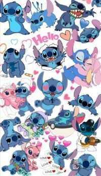 Stitch wallpaper 42