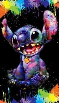 Stitch wallpaper 36