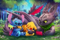 Stitch wallpaper 35