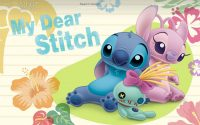 Stitch wallpaper 34
