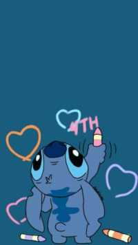 Stitch wallpaper 30