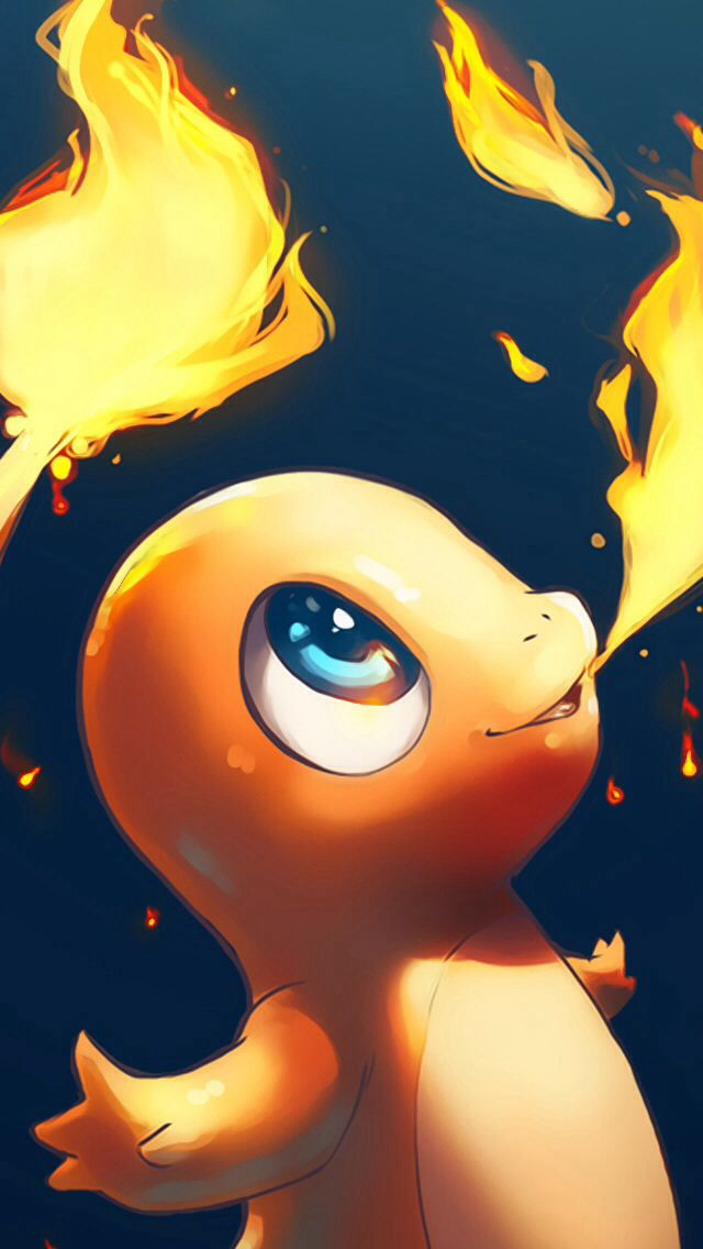 Charmander iphone wallpaper 1