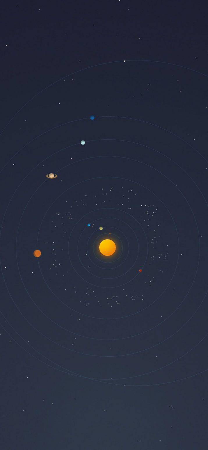 Solar System Wallpaper 1
