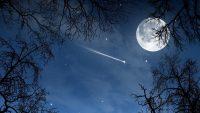 Moon and stars wallpaper 30