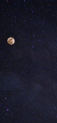 Moon and stars wallpaper 50