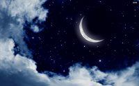 Moon and stars wallpaper 43