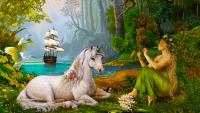 Unicorn wallpaper 29