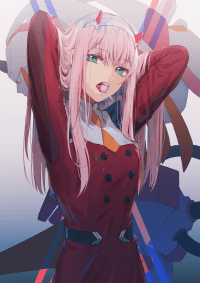 Zero two wallpaper 11