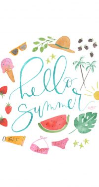 Hello Summer Wallpaper 23