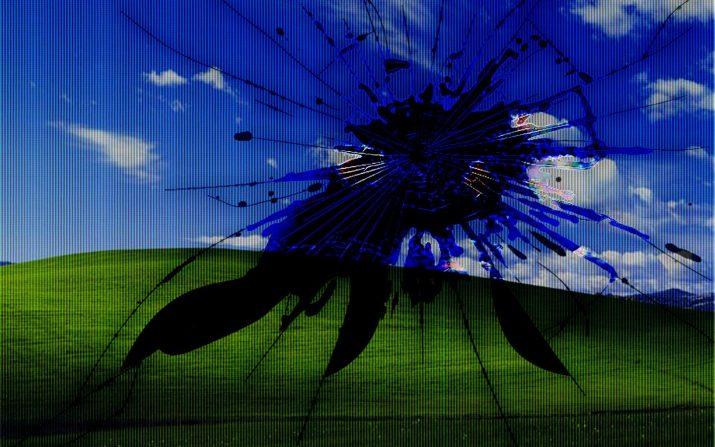 Broken Screen Wallpaper 1