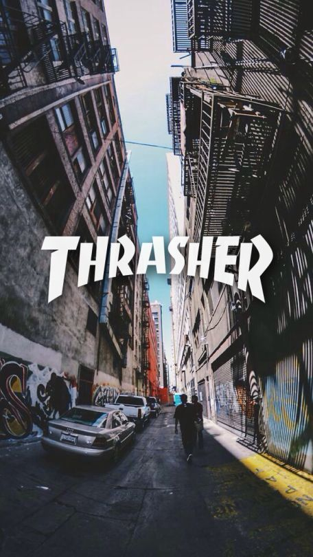 Thrasher Wallpaper 1