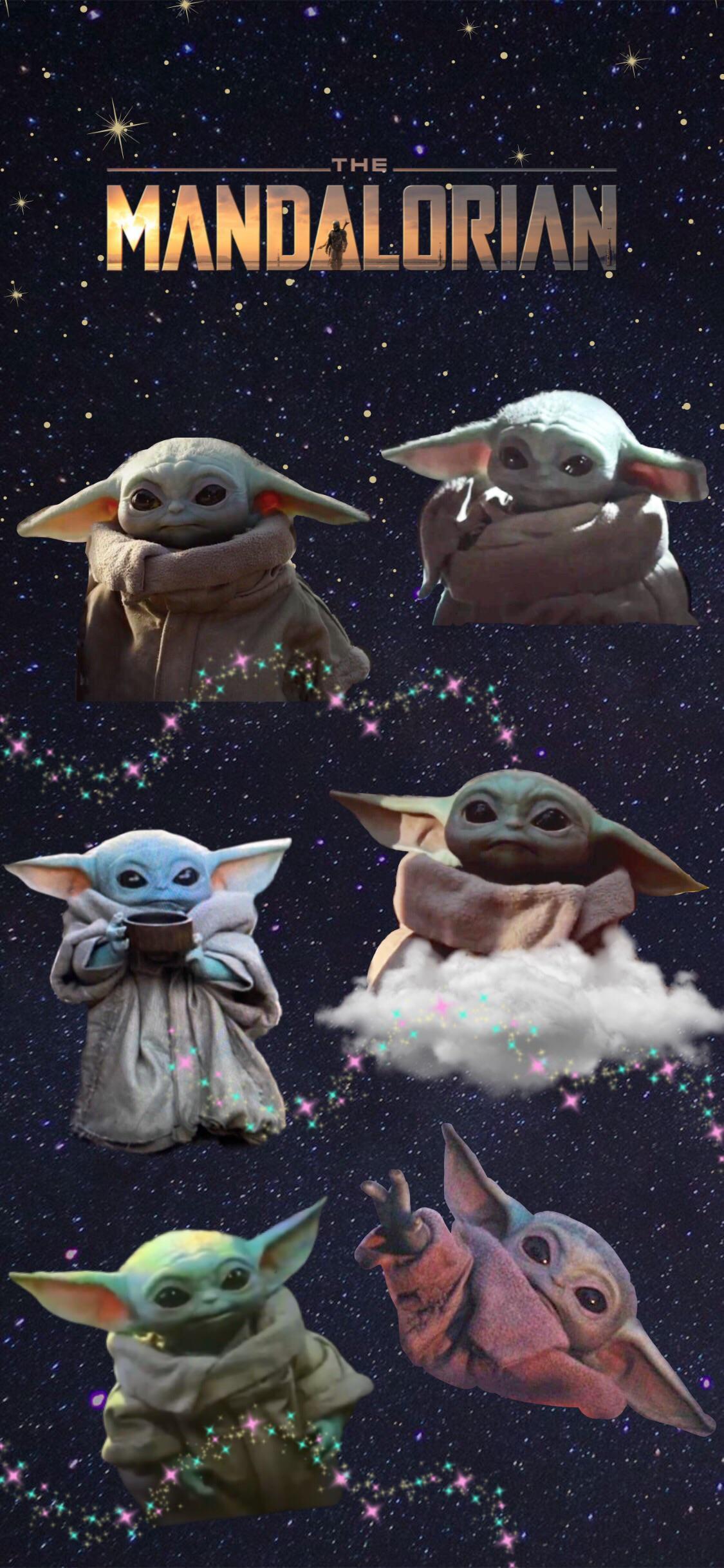 Baby Yoda Wallpaper 17