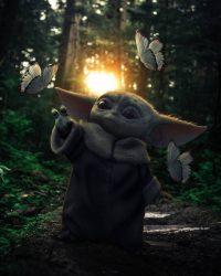 Baby Yoda Wallpaper 3