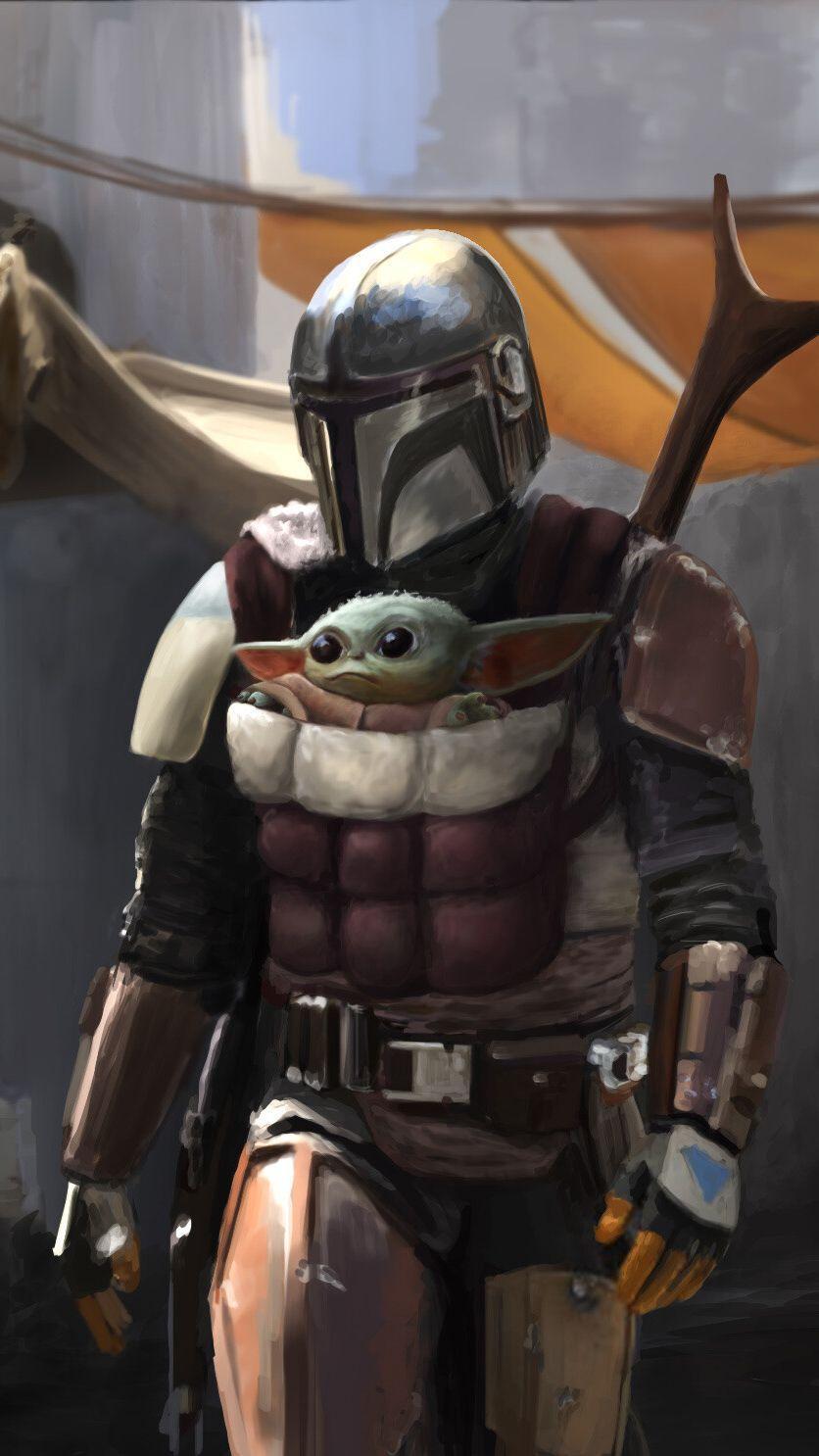 Baby Yoda Wallpaper 53