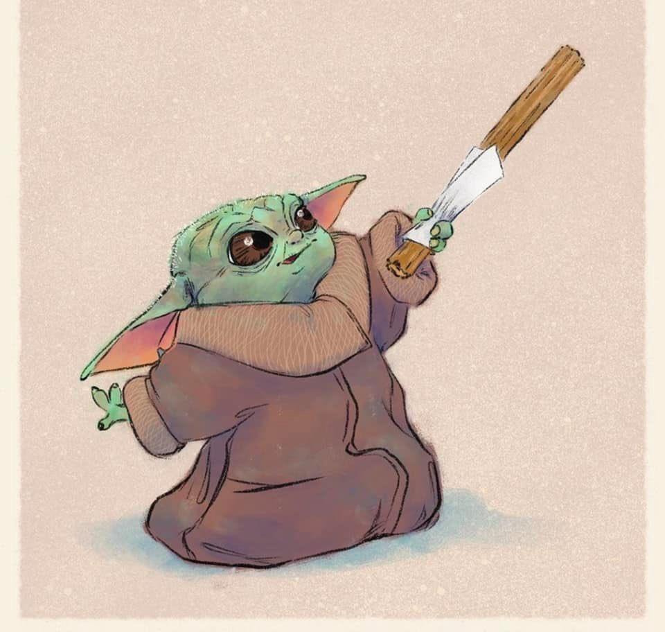 Baby Yoda Wallpaper 22