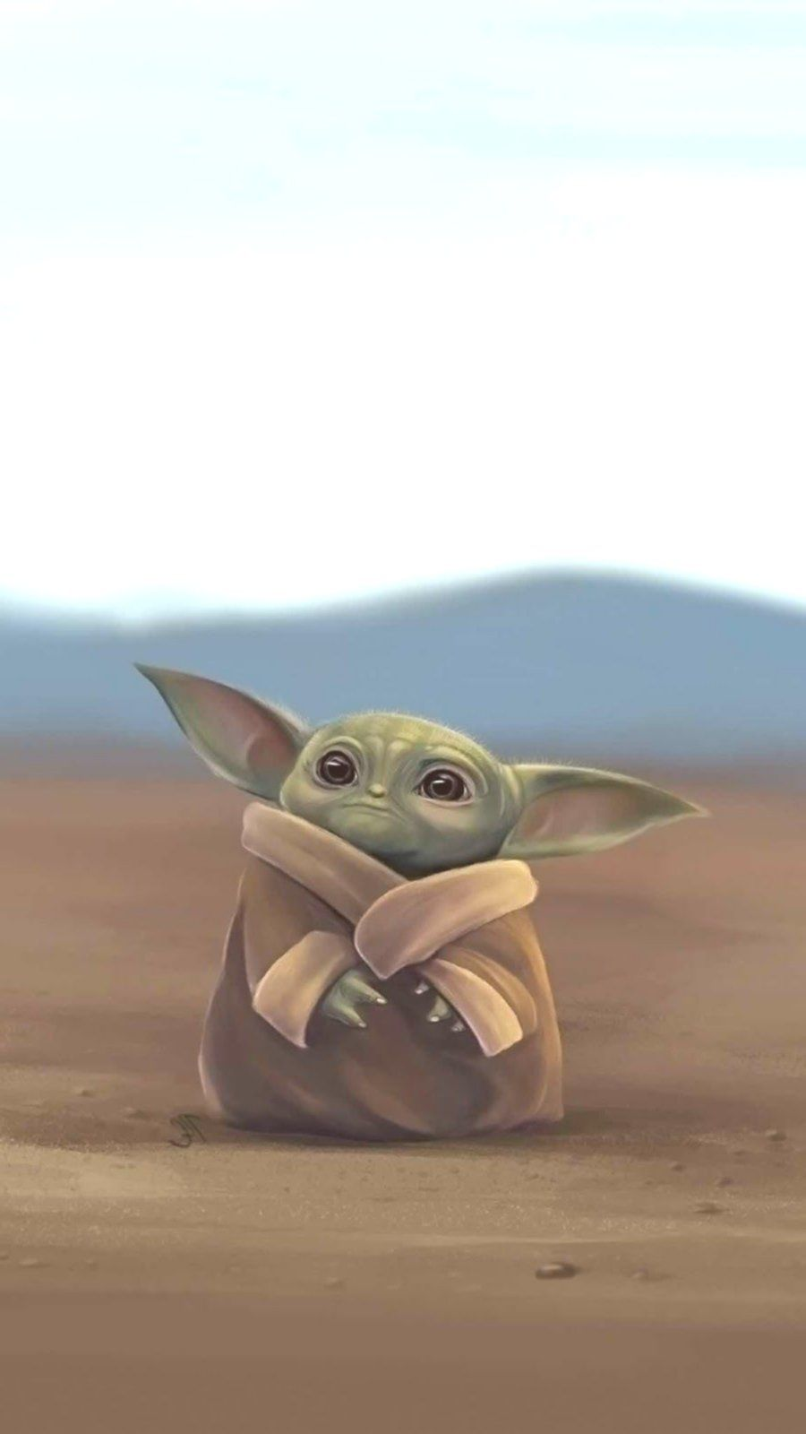 Baby Yoda Wallpaper Wallpaper Sun