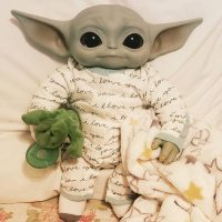 Baby Yoda Wallpaper 11