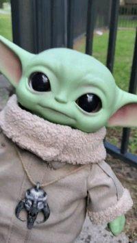 Baby Yoda Wallpaper 7