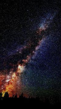 Night sky wallpaper 22