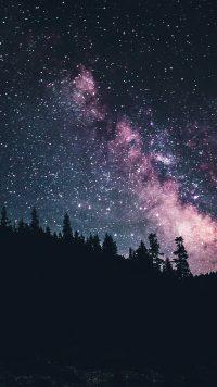 Night sky wallpaper 21
