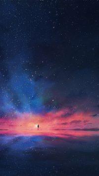Night sky wallpaper 17
