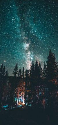 Night sky wallpaper 16