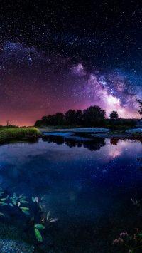 Night sky wallpaper 14