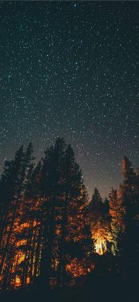 Night sky wallpaper 9