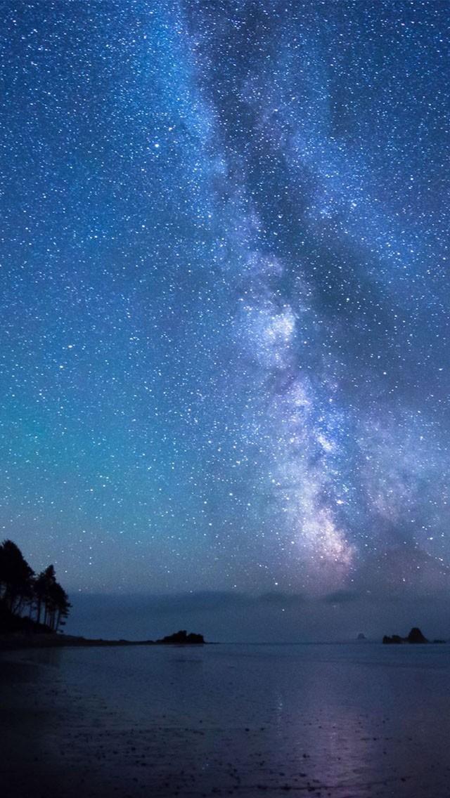 Night sky wallpaper 1