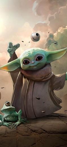 Baby Yoda Wallpaper 5