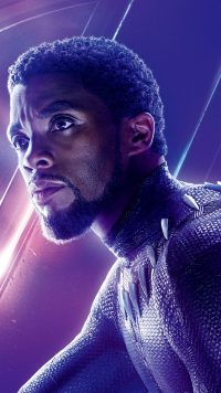 Black Panther Chadwick Boseman Wallpaper 38