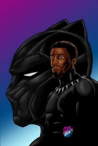 Black Panther Chadwick Boseman Wallpaper 36