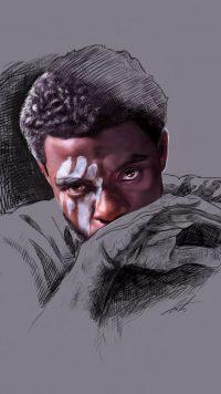 Black Panther Chadwick Boseman Wallpaper 28