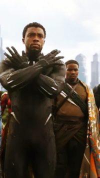 Black Panther Chadwick Boseman Wallpaper 21