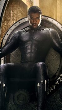 Black Panther Chadwick Boseman Wallpaper 12