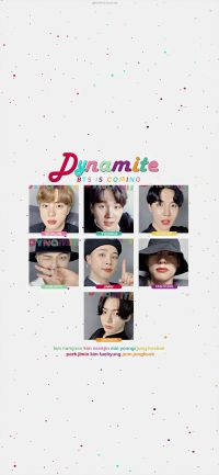 Bts Dynamite Wallpaper 5
