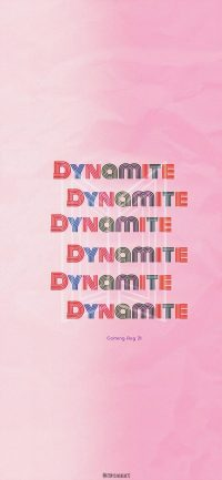 Bts Dynamite Wallpaper 3