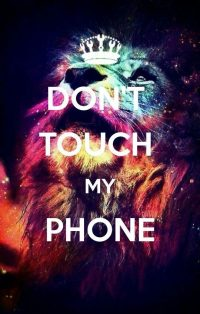 Dont touch my phone wallpaper 32