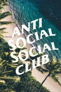 Anti social social club Wallpaper 1