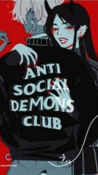 Anti social social club wallpaper 26