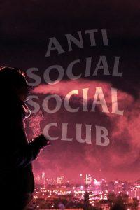 Anti social social club wallpaper 23