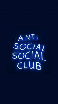 Anti social social club wallpaper 22