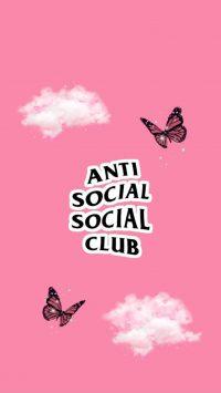 Anti social social club wallpaper 21