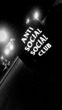 Anti social social club Wallpaper 3